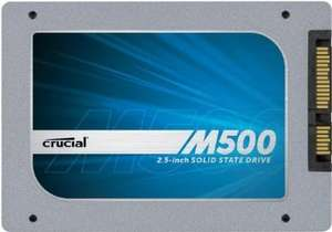 Crucial CT240M500SSD1 2.5-inch 240GB M500 SATA 6Gb/s Internal Solid State Drive £79.99 @ Amazon