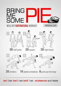 Free workout posters and more from neilarey.com