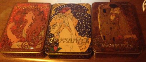 Walkers of London Art Nouveau Chocolates & Tins, £2.99, Home Bargains