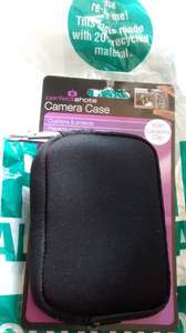 Camera case with carabina clip - £1 @ Poundland