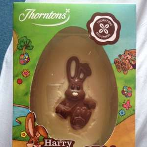 Thorntons Harry Hopalot white chocolate egg. £1.99 @ B&M