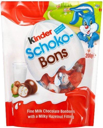 200g bag kinder milk and hazelnuts schoko bons £1 @ poundland