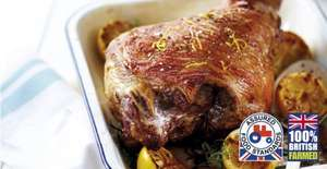British Whole Leg of Lamb - £3.99/kg @ Aldi from tomorrow!