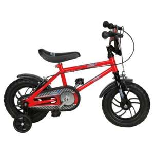 "Urban Racers 12"" Kids' Bike - with stabilisers £15 @Tesco"