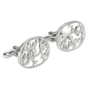 Silver Calligraphy Cufflinks From the British Museum - £165 down to £85 (more for members)