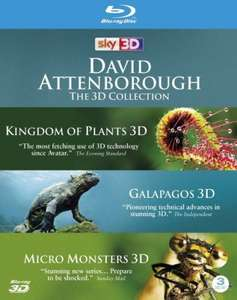 David Attenborough - The 3D Collection Blu-ray £17.99 @ Zaavi