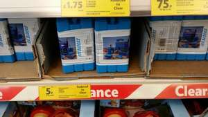 Cool box ice block twin pack @ Tesco  £0.05