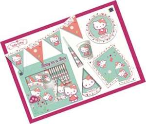 "Hello kitty ""party in a box"" £0.99 @ 99p shop"