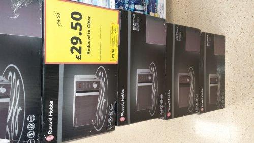 Russell Hobbs RHM2076S Microwave £29.50 @ Tesco