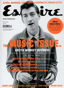 Esquire Mens Magazine £15 for 12 issues @ qualitymagazines