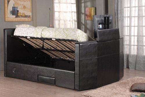 Luxury King Size TV Bed & Storage - £399.95 @ wowcher