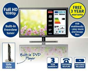 "21.5"" LED TV and DVD Combi MEDION® LIFE® Available @ Aldi Monday 21st April £119.99"