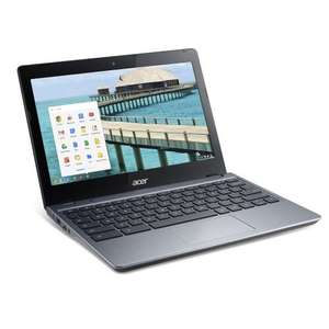 Acer Chromebook C720 RAM 2GB SSD 32GB REFURB AS NEW - £154.95 DELIVERED @ Laptops Direct
