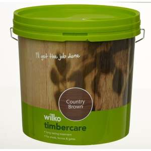 5ltr Fence Paint, £7.55ea or 2 for £10 @ Wilko online & instore
