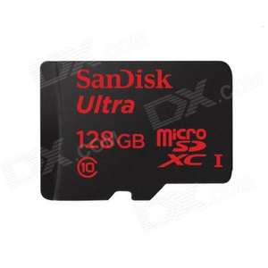 £84.84 - 10% off - SanDisk 128GB MicroSDXC card for Samsung Galaxy S5 & others @ DealExtreme
