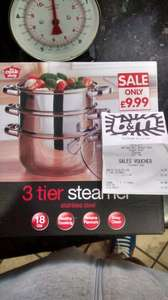 3 tier steamer at B&M