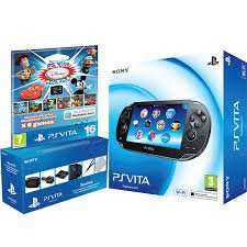 PS Vita Console WiFi Including PS Vita Travel Kit and 16GB Sony PS Vita Memory Card & Disney Mega Pack Download Voucher @ Co-Op Electrical