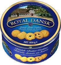 Royal Dansk Danish Butter Cookies 4 Pound (1.8 Kg!) Tin @ Costco