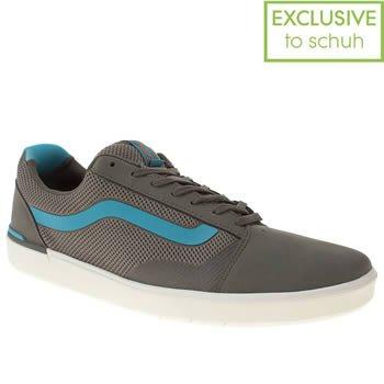 Men's Grey Vans Lxvi Locus Trainers Size 6 £19.99 @ schuh
