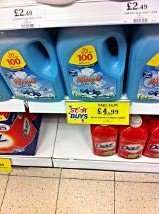 Muvo - 100 wash Laundry Detergent - £4.99 @ Home Bargains