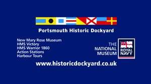 Half Price Portsmouth Historic Dockyard 9 Venue-in-1 Annual Family Pass £39.20 (was £78.40) with Eagle Radio
