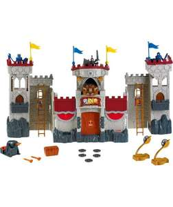 Imaginext Castle £19.99 Argos (plus reduced dinosaurs too)