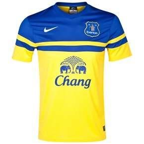 Everton short sleeved away shirt - £15 plus £4.99 delivery at Everton store