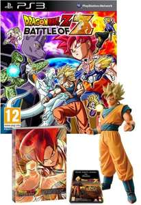 Dragon Ball Z: Battle of Z GOKU EDITION inc 25cm Goku Super Saiyan Figurine & Artbook (PS3 / XBOX 360) - Exclusive to GAME - £39.99