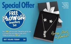 24ACE : Free Jewellery Set if place any order