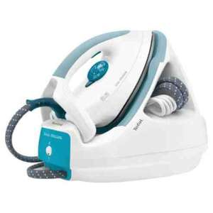 Tefal GV5225 Ceramic Plate Steam Generator Iron - White & Blue £49  @ tesco instore