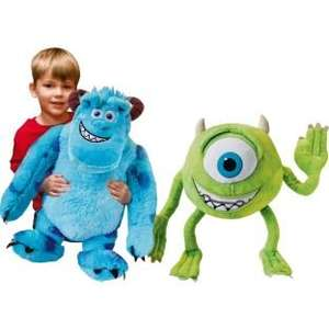 Argos - Monsters University Mike and Sulley Plush Toy Set. - Was £39.99... Now £14.99