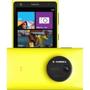 Nokia Lumia 1020 (yellow & black handsets 64gb) £240 o2 refresh deal (Quidco up to £120 on £37+ contracts) & (Refer a friend both get £40) & £20 App Store voucher & £34 worth of games & Free Nokia camera grip worth £45