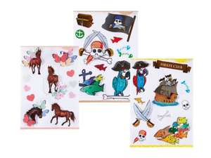 3D Wall stickers £1.99 @ Lidl from monday 21st April