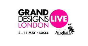 2 for 1 Grand Designs Live Tickets