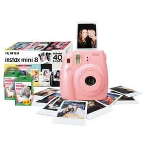 Fujifilm Instax Mini 8 Instant Camera Kit 40 Shots was £75.00 NOW £10.00 reduced to clear @ Tesco Instore