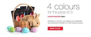SensationNail gel nail polish 4 for the price of 3. Plus free delivery. £12.50 saving and cheaper then boots