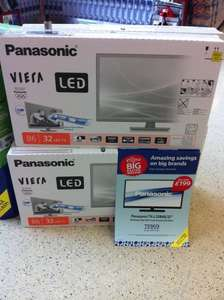 Panasonic TX-L32B6B 32'' LED TV, was £249, now £199 @ Tesco online and in-store