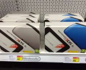 Nintendo 3ds XL Currys £80.00 instore