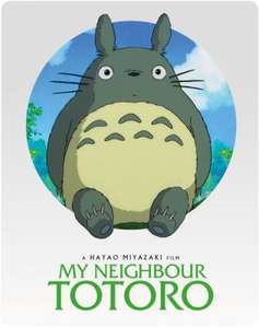 Studio Ghibli Steelbooks only £14.99 each including free delivery @Zavvi