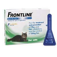 Frontline for Cats 2 x 6 pack £31.44 (with code) @ VetUK