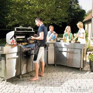Weber Summit S670 Grill Centre £5099 @ Riversidegardencentre