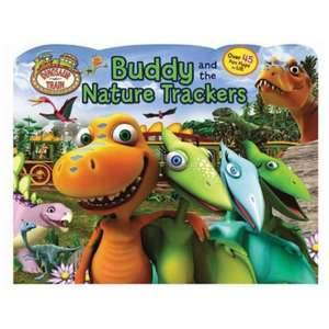 "Dinosaur Train ""buddy and the nature trackers"" 45 lift up tags inside - £1 @ Poundland"