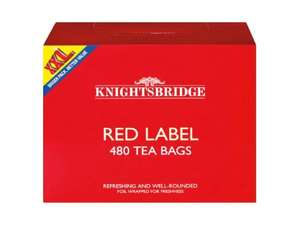 Lidl Red Label Tea Bags - 480 for £4.99