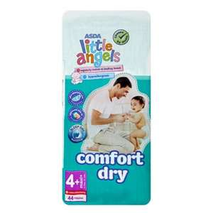 Little angels nappies 3 for £12 @ Asda