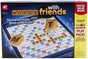 Words with Friends Board Game for £3.00 + £2.99 delivery at Tesco Direct