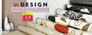 premium wallpaper 2 for £9, 4.99 each @ poundstretcher.co.uk