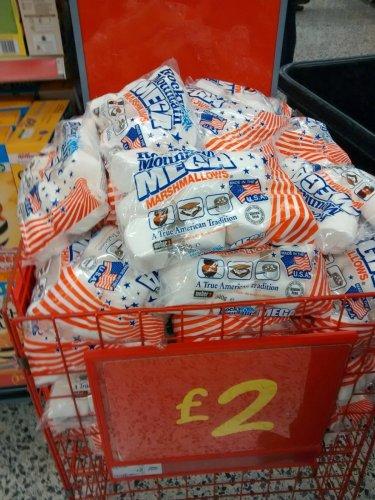 Rocky Mountain MEGA marshmallows £2 a bag in ASDA