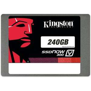 Kingston Technology 240GB Solid State Drive 2.5-inch V300 SATA 3 + 3 year warranty - £64.79 @ Amazon
