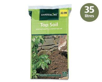Top Soil 35 Litres £2.99 Aldi (Mon 21st April)