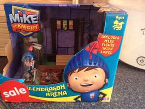 Mike the knight toy set £2 at asda